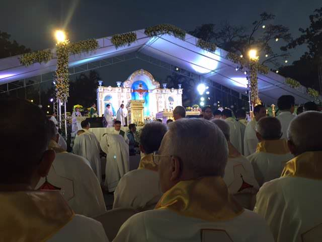 Archbishop Mark Coleridge from the International Eucharistic Congress in Cebu