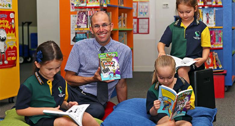 Wacky idea leads to new children's book