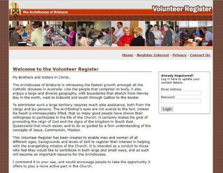 Volunteer Register
