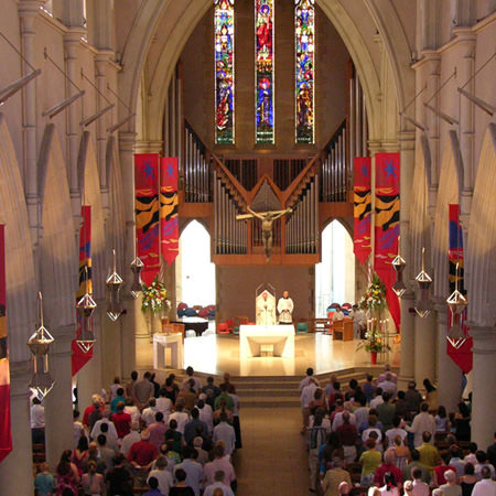 I would like to find a nearby parish or attend Mass or Reconciliation