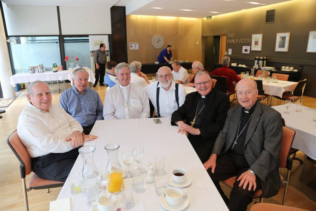 The 2016 Mass and lunch for retired clergy included 6 Bishops! Not all of them retired however.