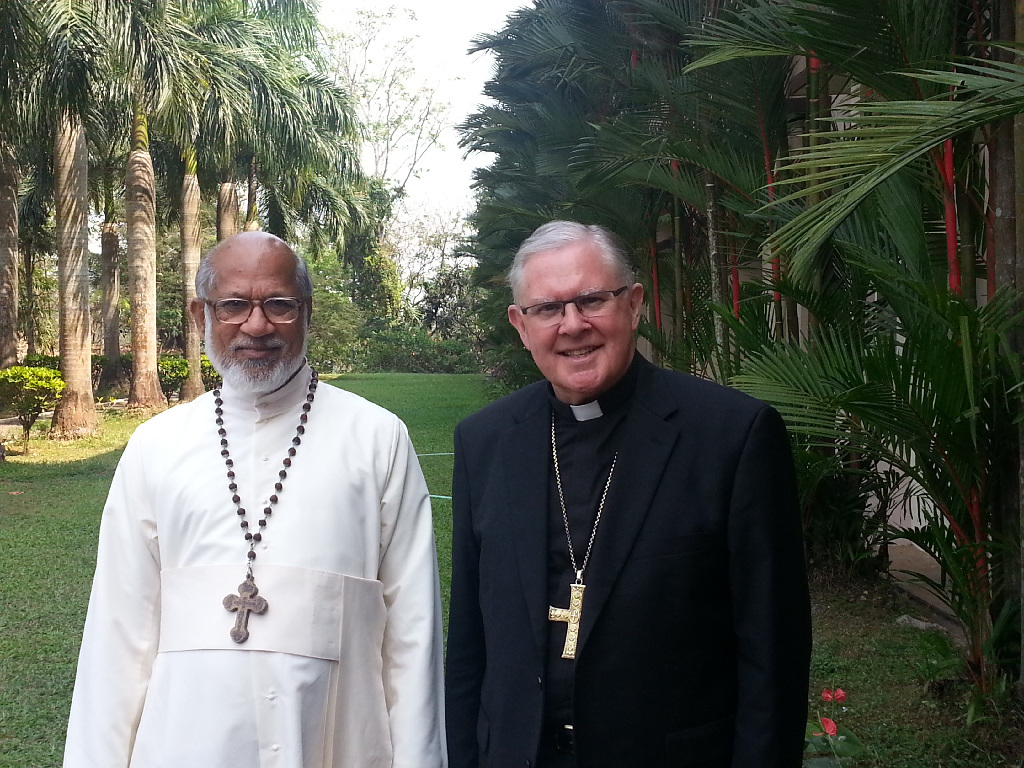 Meeting with Cardinal Mar George Alencherry Major Archbishop of the Syro Malabar Church