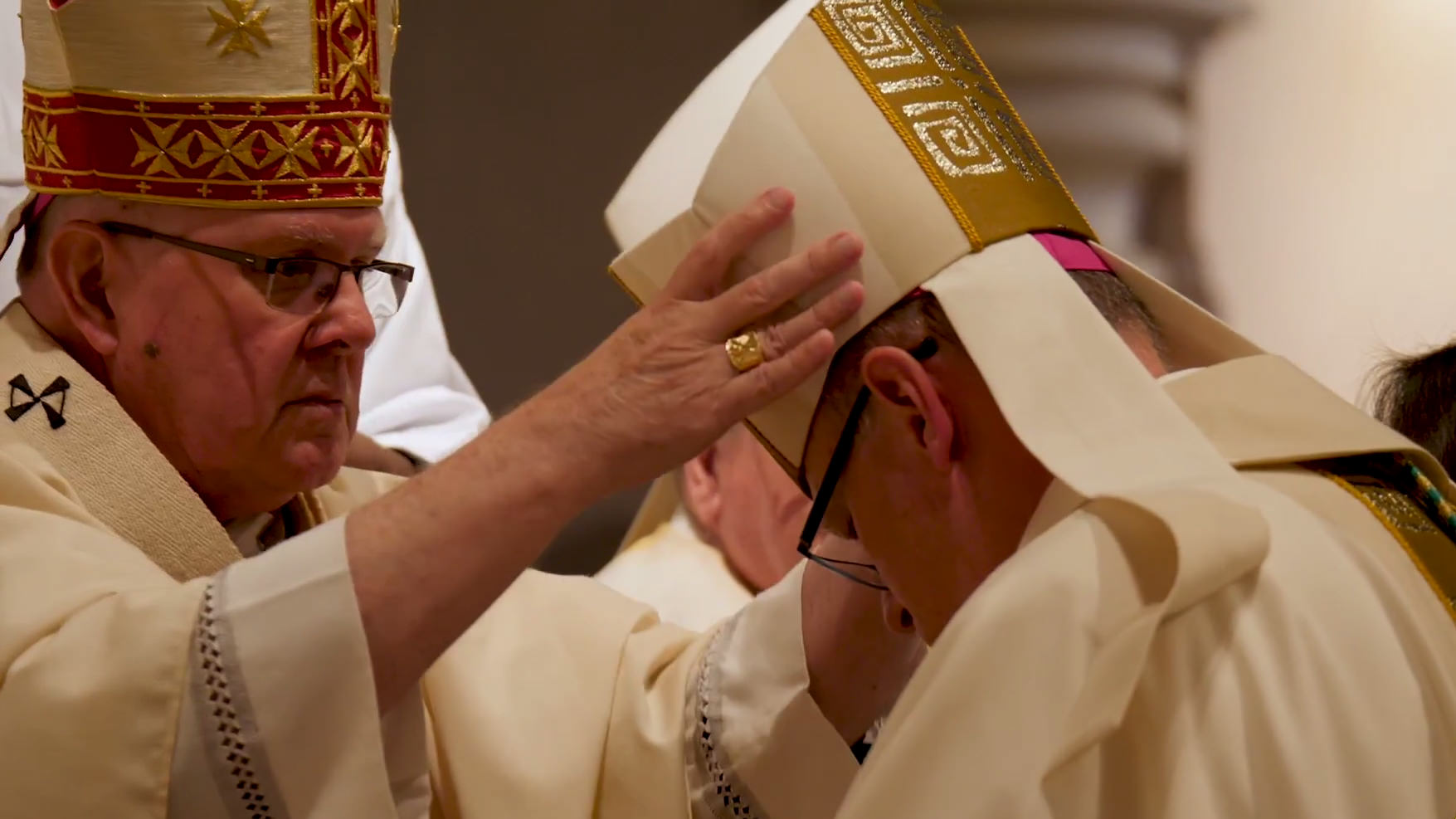 Ordaining Bishop Ken Howell